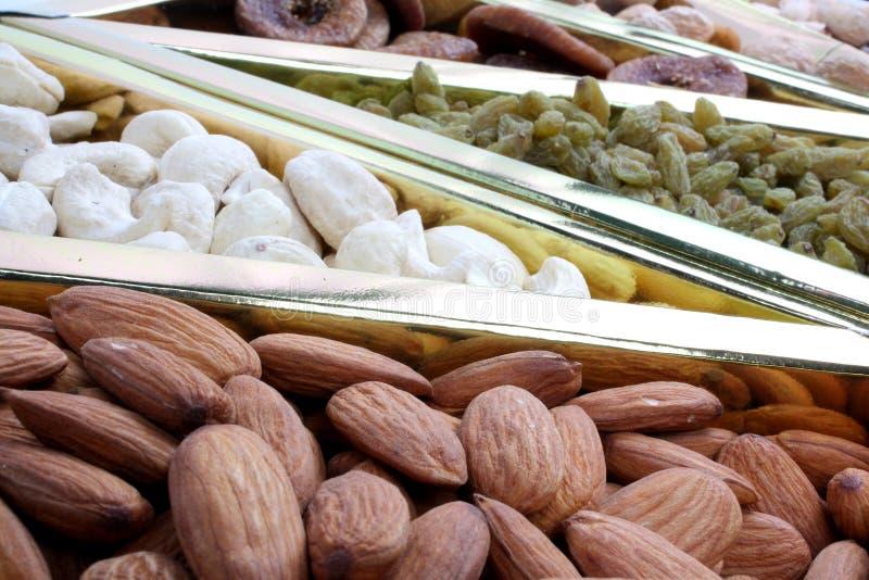 Dryfruits nutritivo imagenes de archivo