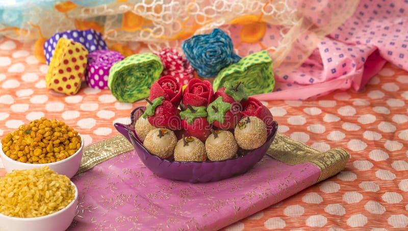 Dryfruits Zoet Voedsel stock foto's