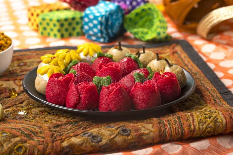 Dryfruits Zoet Voedsel stock afbeelding