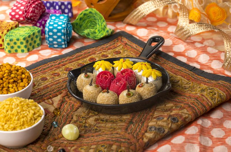 Dryfruits Zoet Voedsel royalty-vrije stock afbeelding