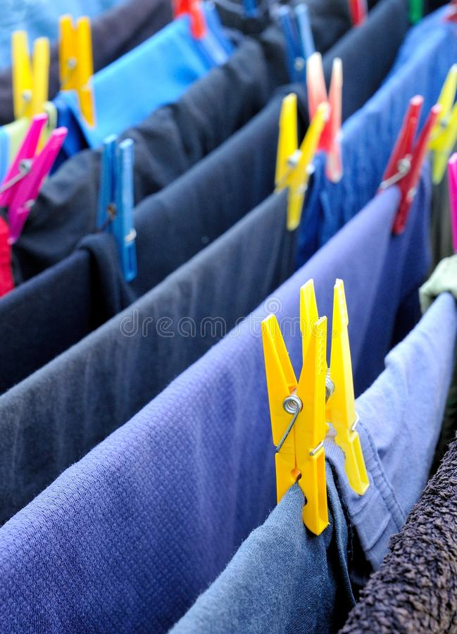 Download Drying clothes stock photo. Image of macro, yellow, closeup - 25456118