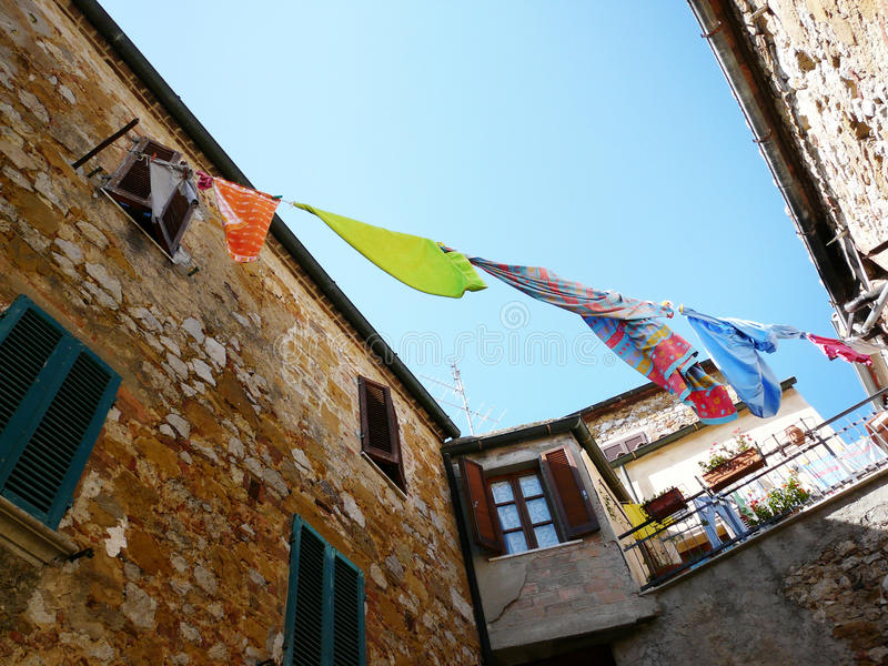 Download Drying Laundry Royalty Free Stock Photos - Image: 17373388