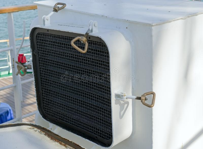 Drymba dla ekstrakci powietrze zdjęcia royalty free