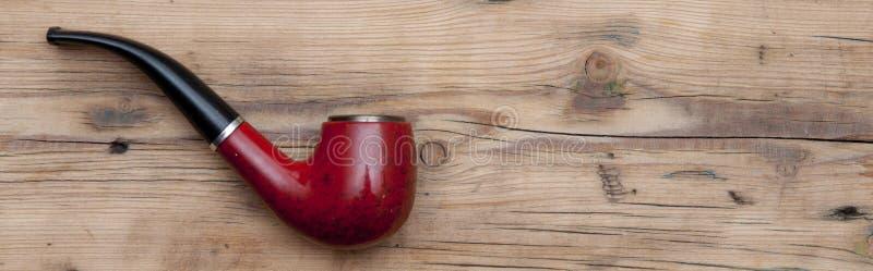 Drymba robić drewniany tabaki dymienie zdjęcie stock