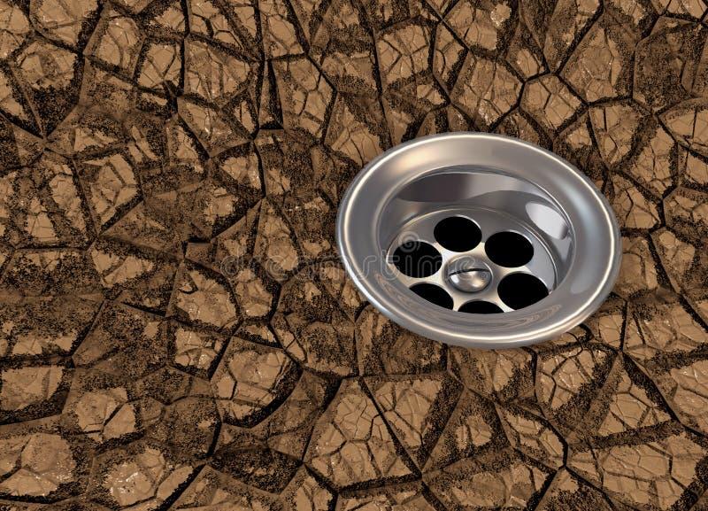 Download Dryness stock illustration. Image of illustration, global - 13526812