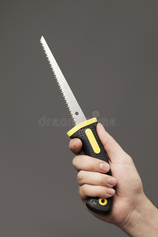 Download Drywall saw stock image. Image of keyhole, holding, object - 16096635