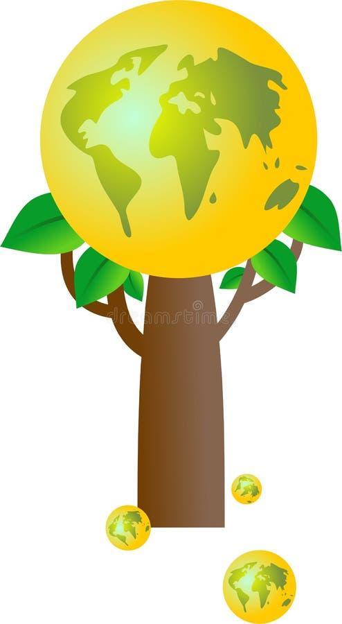 drzewa świata ilustracji