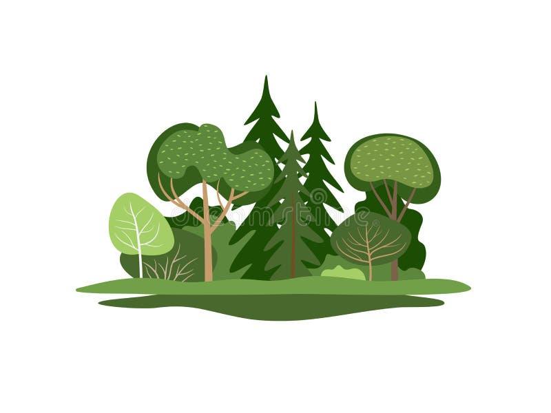 Drzewa ilustracji
