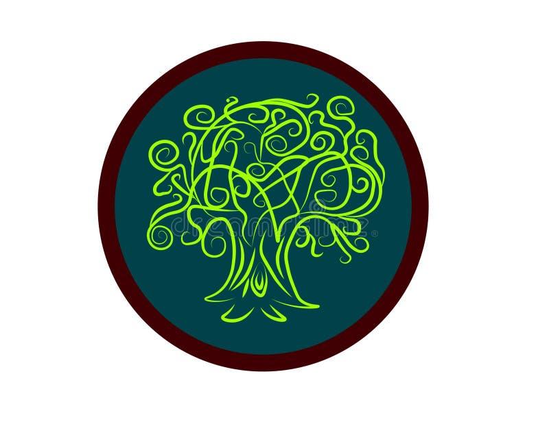 Drzewna sztuka zdjęcie stock