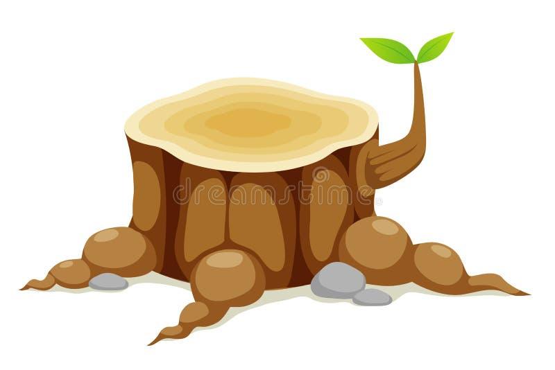 Drzewny fiszorek   ilustracja wektor