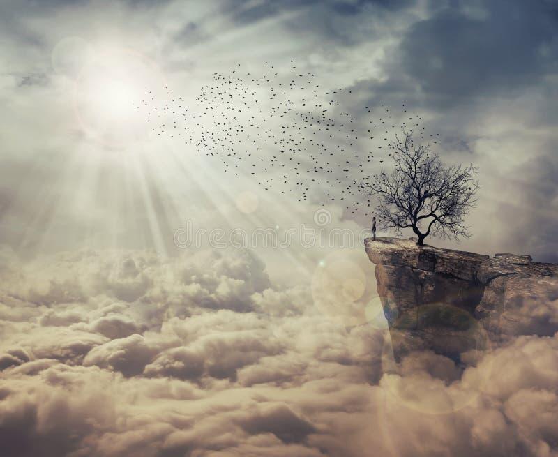 Drzewo śmierć obrazy royalty free
