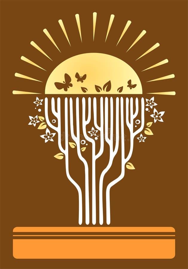 drzewo życia royalty ilustracja