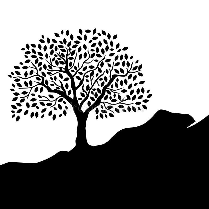 Drzewo życie ilustracja wektor
