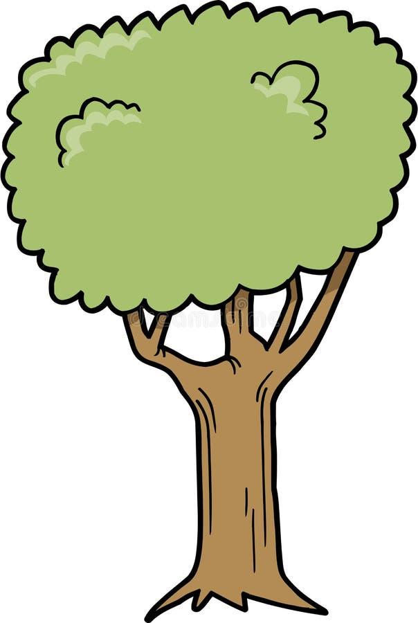 drzewo ilustracyjny wektora ilustracja wektor