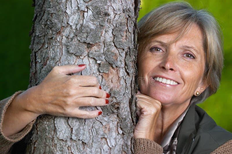 drzewo obejmowania fotografia stock