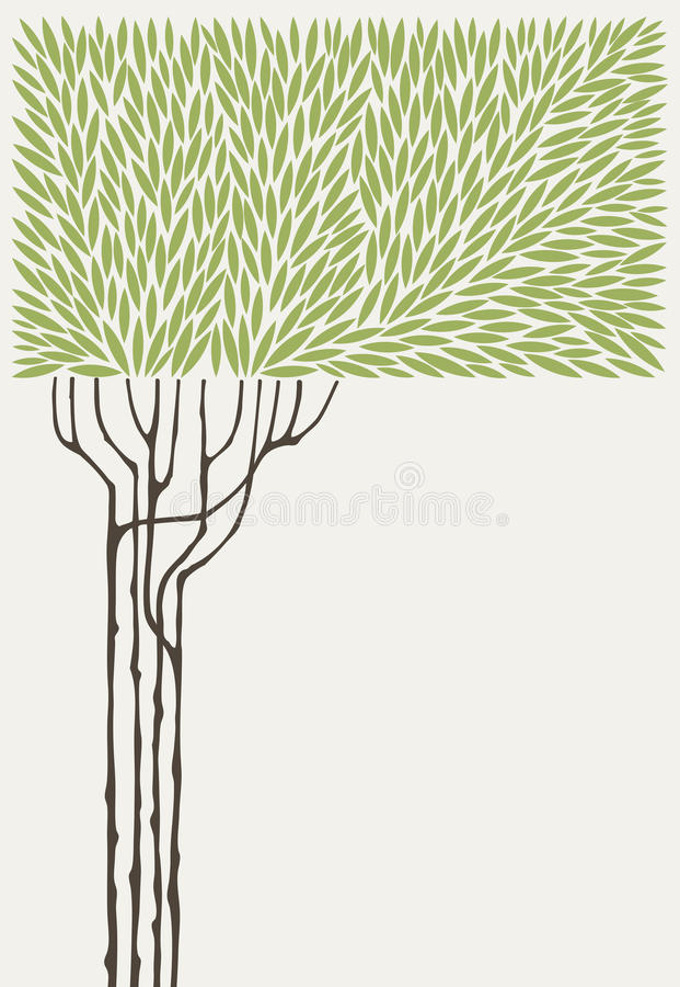 drzewo oliwne ilustracja wektor