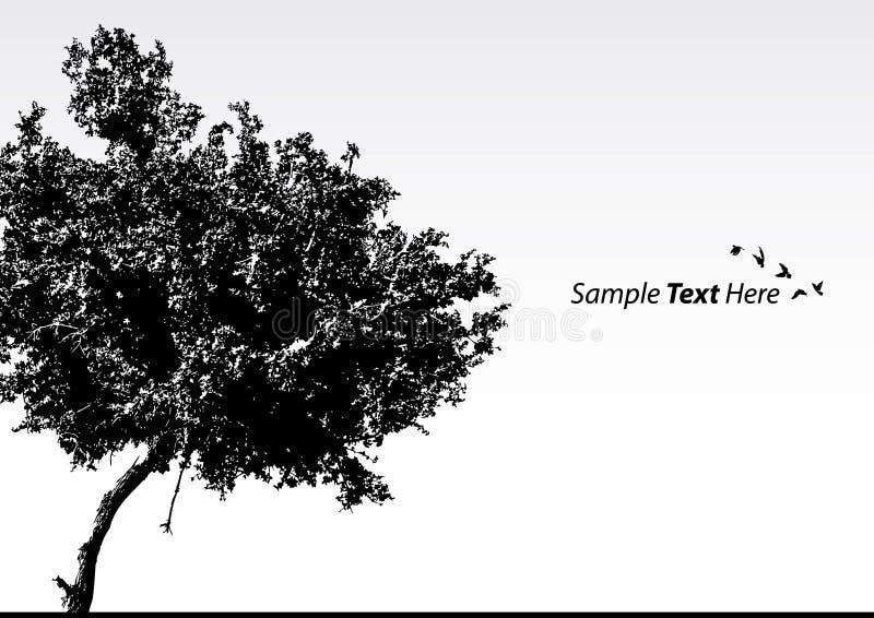 drzewo wektor royalty ilustracja