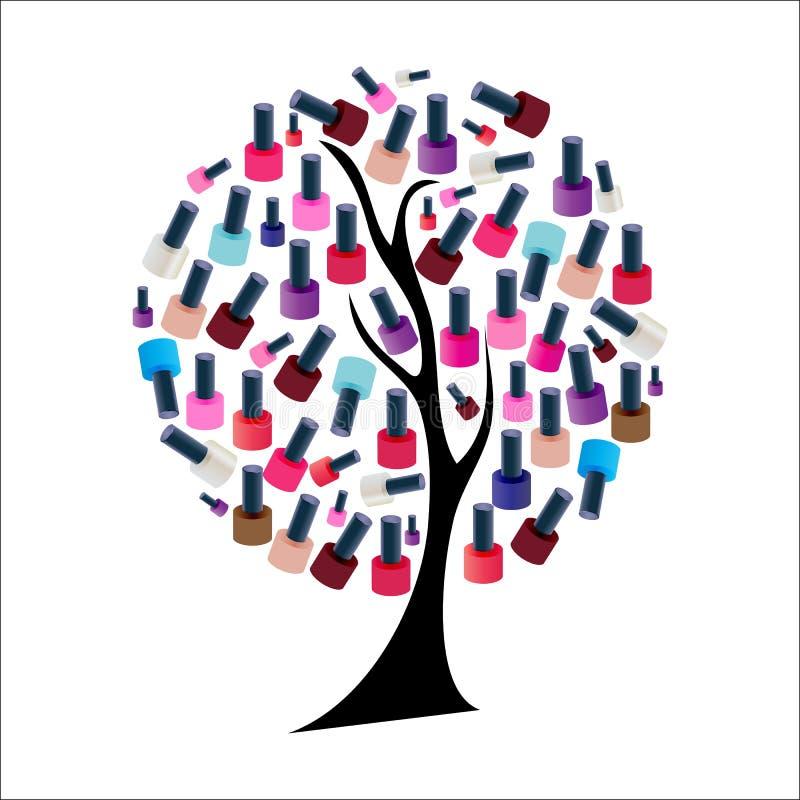 Download Drzewo Z Realistycznym Gwoździa Połysku Wektorem Ilustracja Wektor - Ilustracja złożonej z macro, ciecz: 53788932