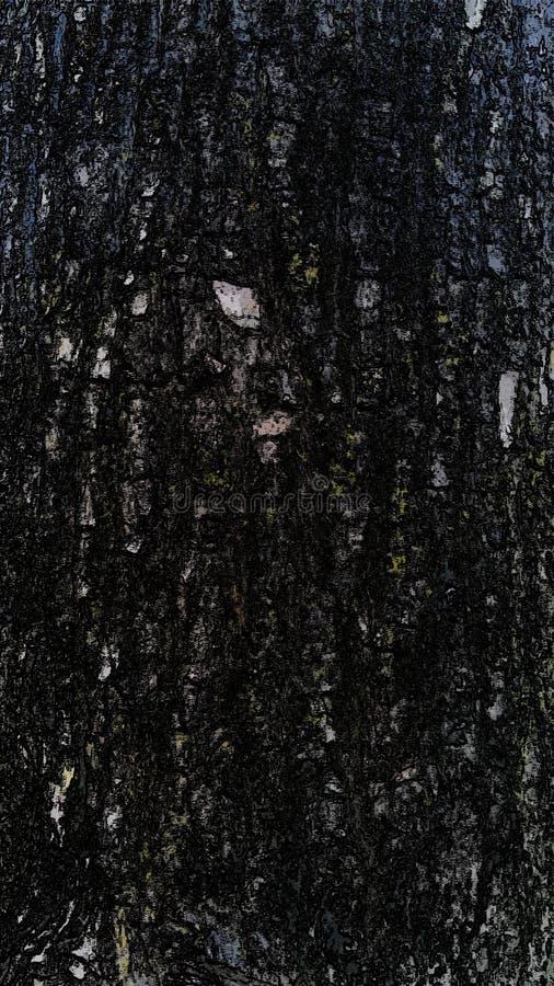 drzewo z teksturą obraz royalty free