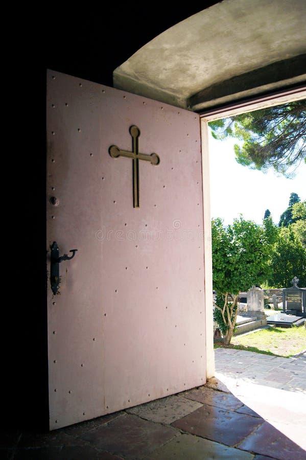 Drzwi świątynia obraz royalty free