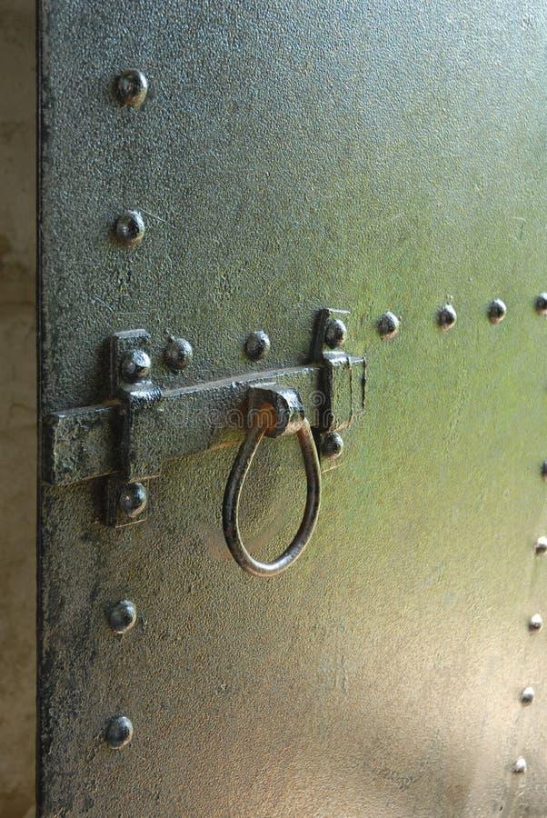 drzwi żelaza zdjęcie stock