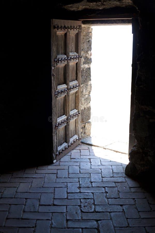 Drzwi życie zdjęcie royalty free