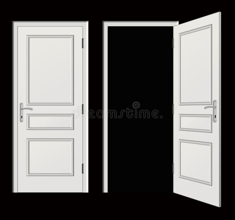Download Drzwi ilustracji. Ilustracja złożonej z możliwość, rama - 13330831