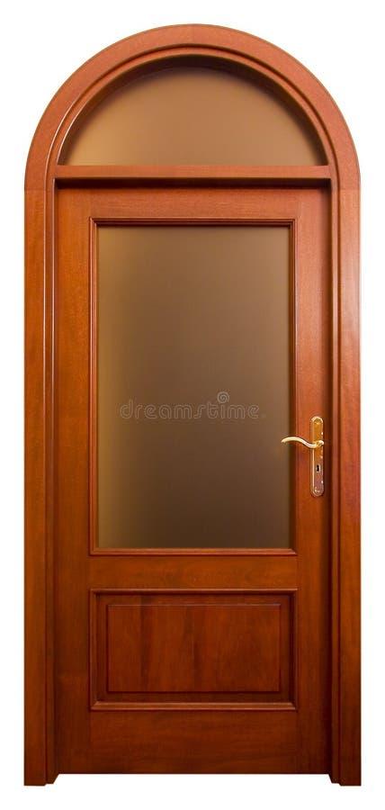 drzwi 2 drewna fotografia royalty free