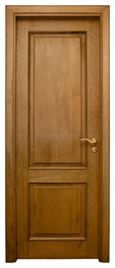 drzwi 3 drewna obraz stock