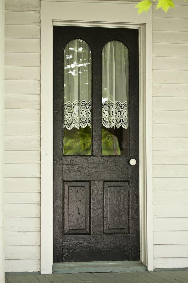 drzwi antykwarska koronka obrazy royalty free