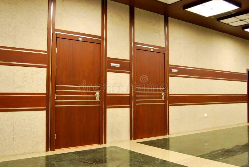 drzwi biurowi zdjęcie royalty free
