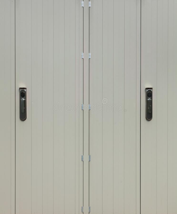 Drzwi chałupa zdjęcie stock