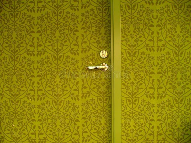 drzwi do ściany zdjęcia stock
