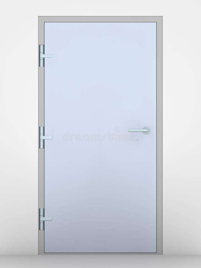 drzwi do biura ilustracji