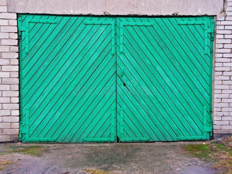 drzwi do garażu zdjęcia stock