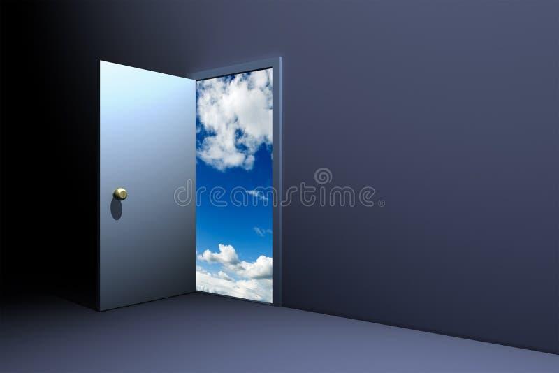 drzwi do nieba zdjęcia royalty free