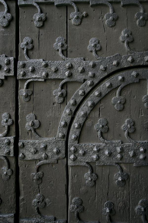 drzwi gothic obrazy royalty free