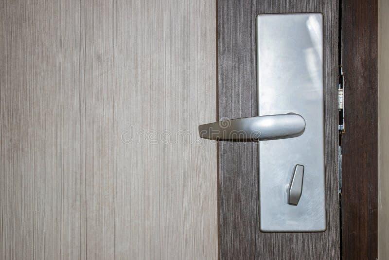 Drzwi i k?dziorek zdjęcia royalty free