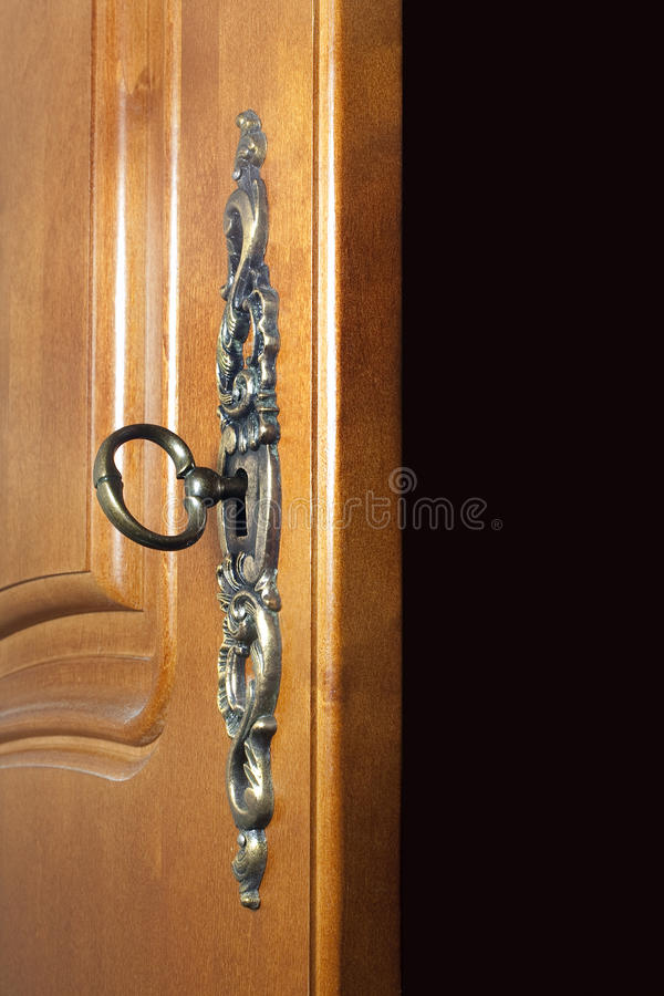 drzwi klucz obrazy stock