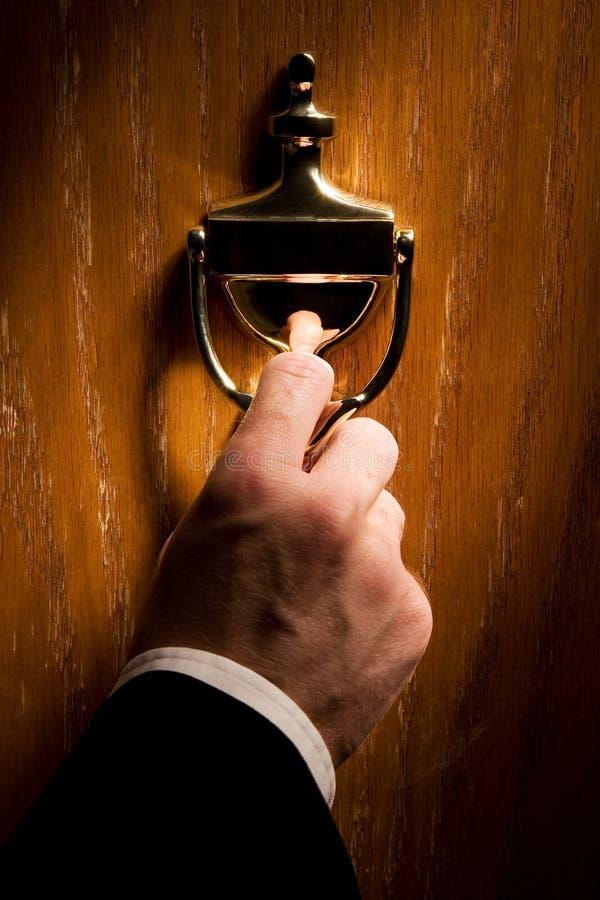 drzwi knocker obrazy stock