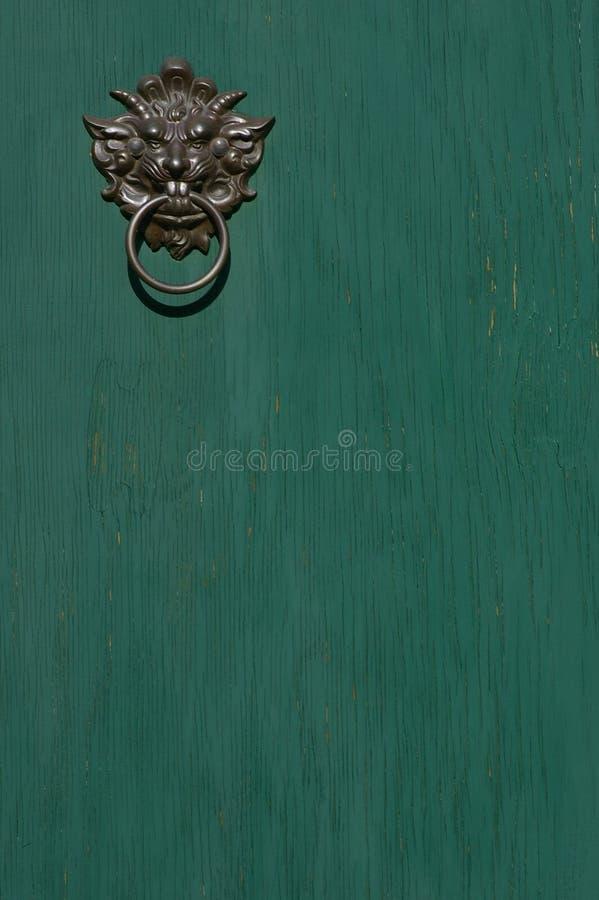 drzwi knocker obraz royalty free