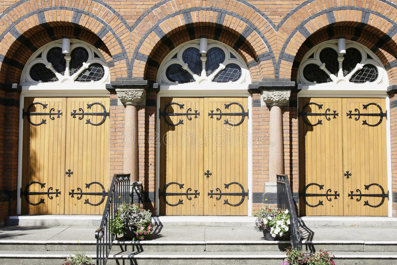 drzwi kościelny wejście obraz royalty free