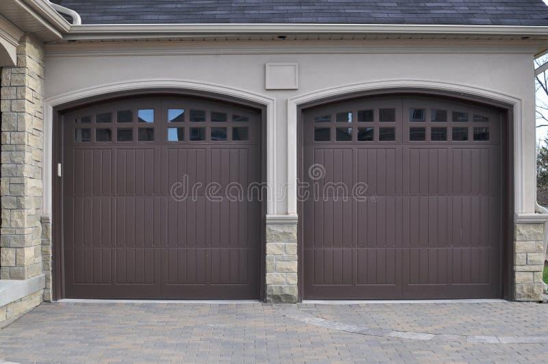 drzwi kopii garaż zdjęcie royalty free