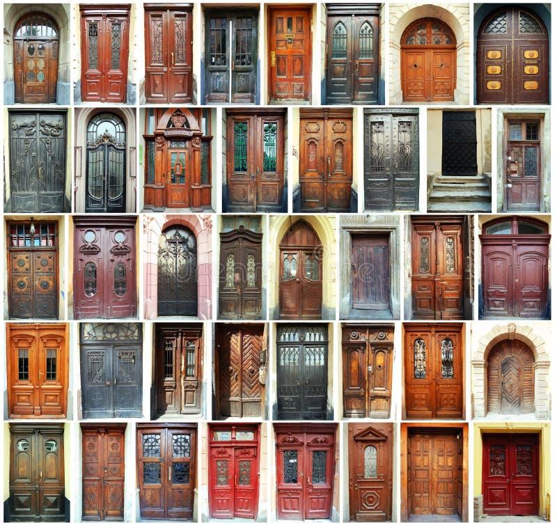 drzwi Lviv Ukraine obrazy royalty free