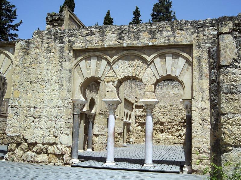 Drzwi Medina Azahara obrazy stock