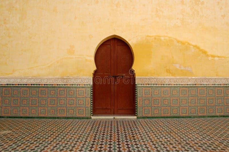 drzwi moroccan obraz royalty free