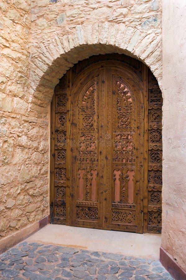 drzwi mrocco zdjęcia royalty free