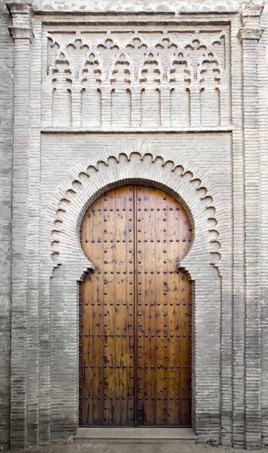 drzwi mudejar fotografia royalty free