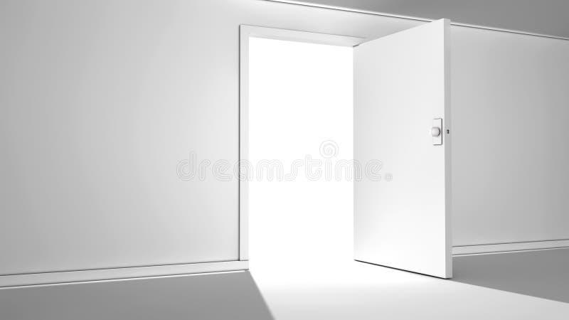 Drzwi nadzieja ilustracji