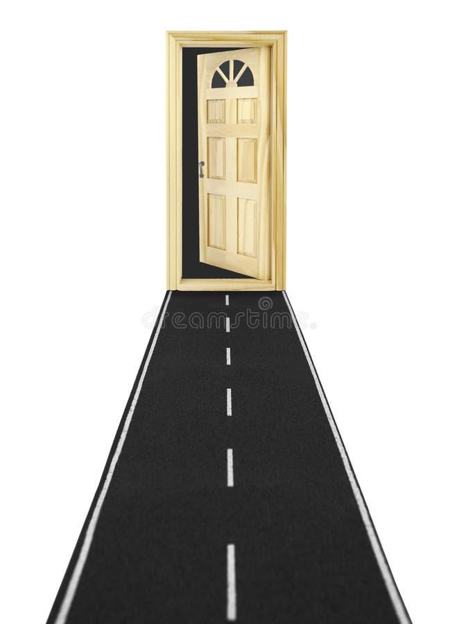 drzwi nieznane zdjęcia stock